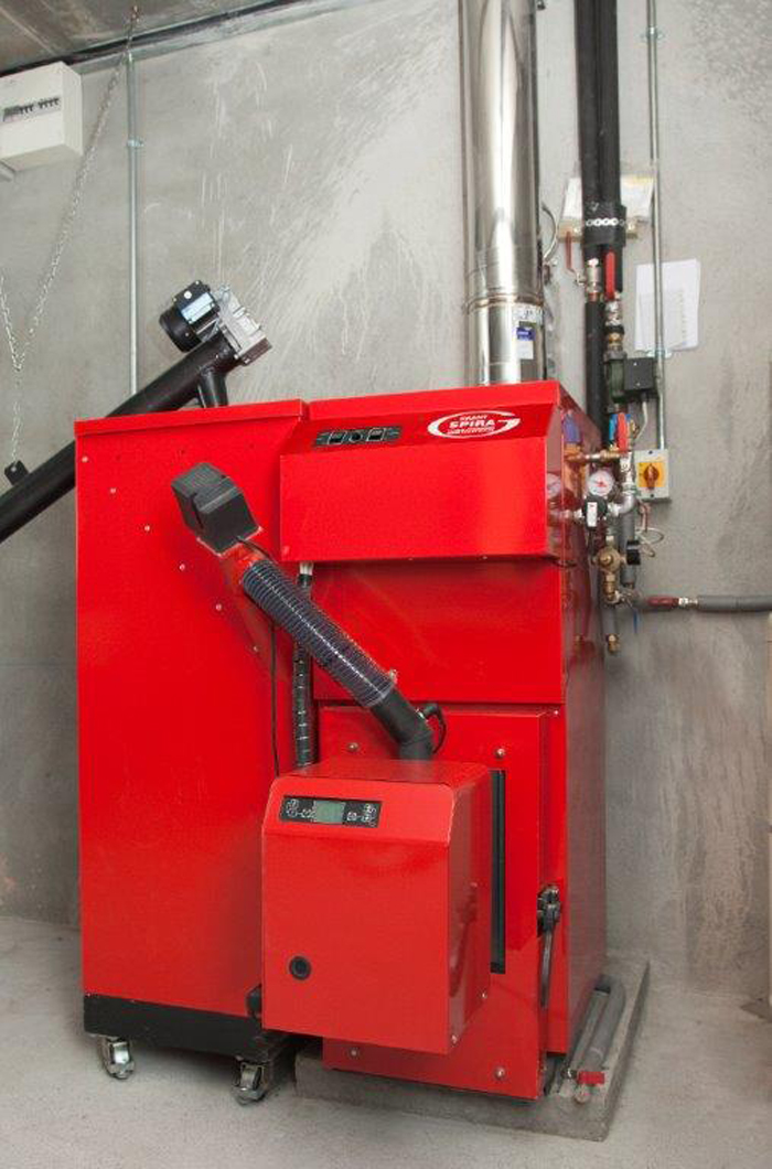 Courtyard Wood Pellet Boilers